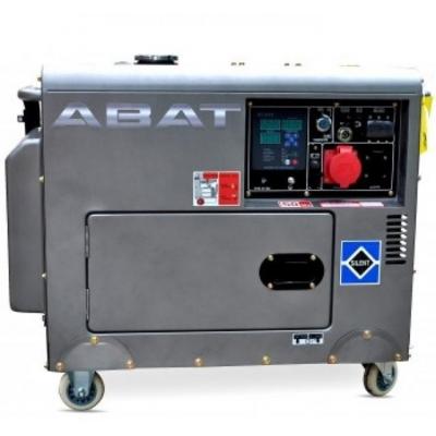 Generator diesel ABAT 7500AD - 6 kVA, monofazat, pornire electrica si automatizare inclusa