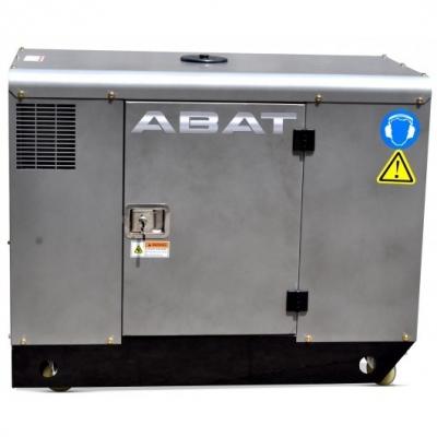 Generator diesel ABAT 12 AD - 11 kVA, monofazat, pornire electrica si automatizare inclusa