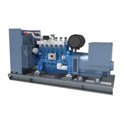 Generator pe gaz ABAT 40 TBG, 40 kVA, trifazat, motorizare Baudouin